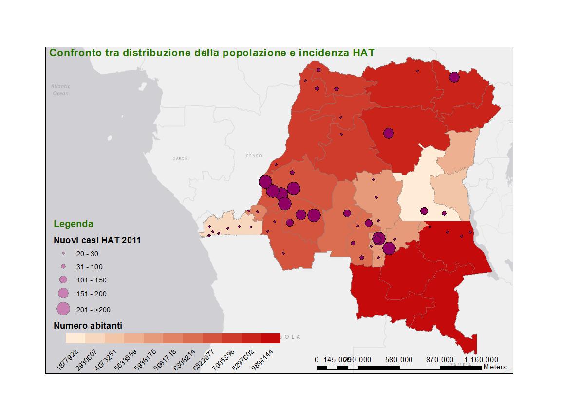 Distribuzione Popolazione e HAT