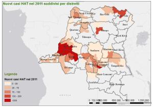 Distribuzione nuovi HAT 2011 distretti